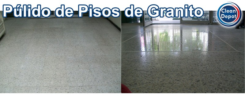 Desincrustado pisos de granito grupomisol for Pulido de pisos de granito