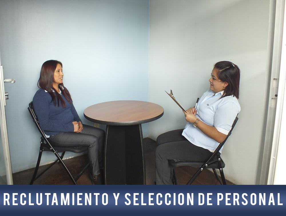Reclutamiento y selección de personal temporal
