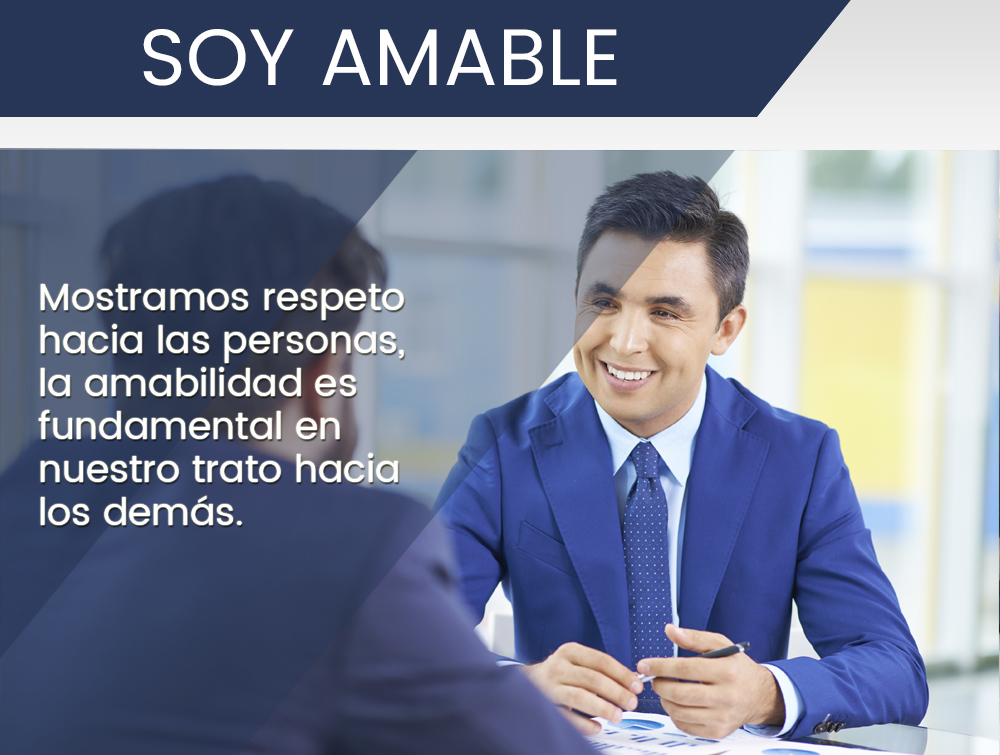 Soy amable