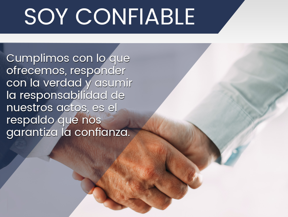 Soy confiable