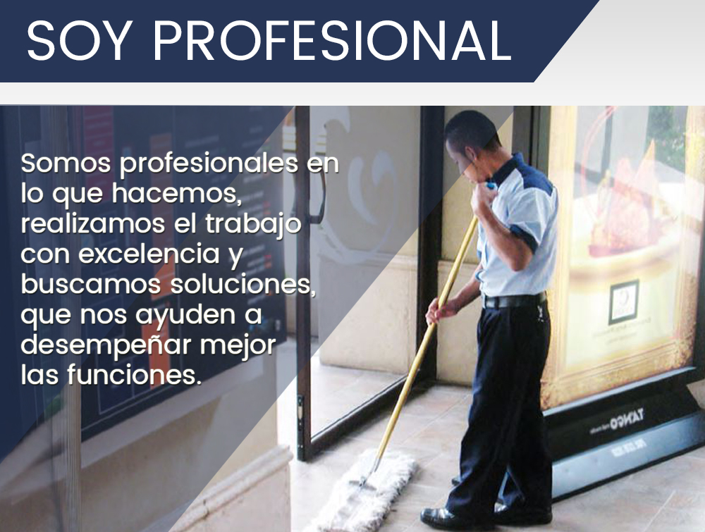 Soy profesional