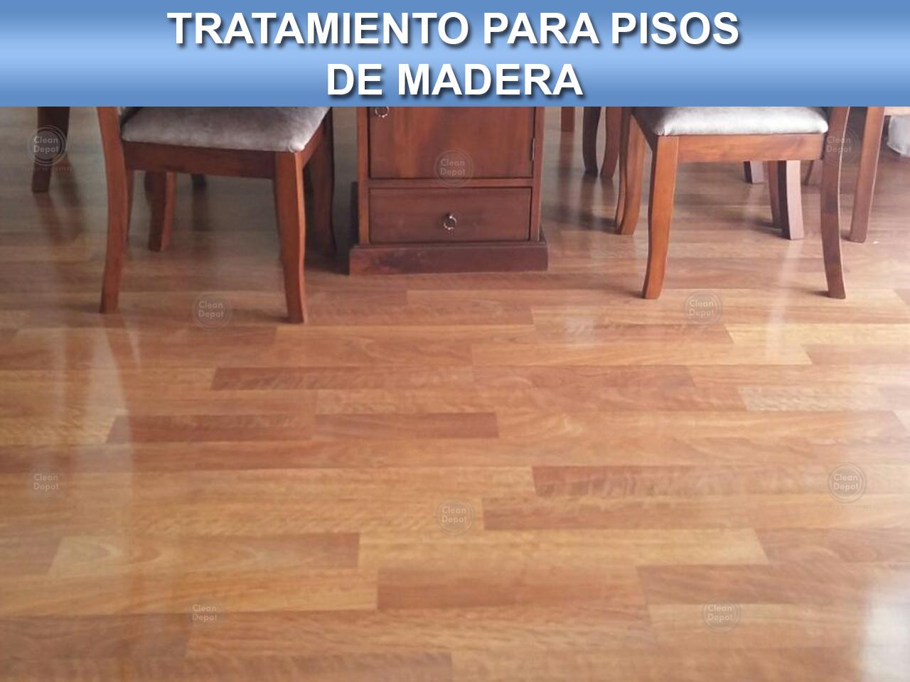 Tratamiento para pisos de madera