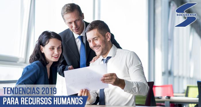 Tendencias 2019 para Recursos Humanos