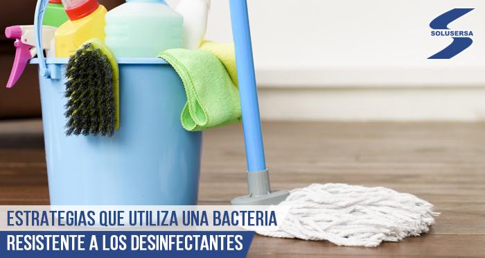 Descubren estrategias que utiliza una bacteria resistente a los desinfectantes